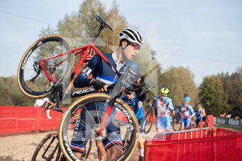 07/11/2020 - Hugo Jot (FRA) during the 2020 UEC Cyclo-Cross European Championships, Men Under 23, on november 7, 2020 in Rosmalen, The Netherlands - Photo Orange Pictures / DPPI - 2020 UEC CYCLO-CROSS EUROPEAN CHAMPIONSHIPS, MEN UNDER 23 - CICLOCROSS - CICLISMO