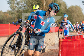 07/11/2020 - Filippo Fontana (ITA) during the 2020 UEC Cyclo-Cross European Championships, Men Under 23, on november 7, 2020 in Rosmalen, The Netherlands - Photo Orange Pictures / DPPI - 2020 UEC CYCLO-CROSS EUROPEAN CHAMPIONSHIPS, MEN UNDER 23 - CICLOCROSS - CICLISMO