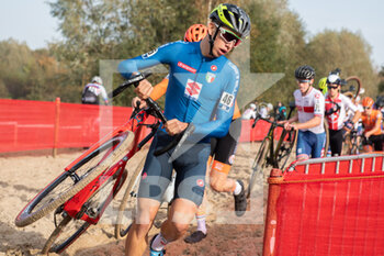 07/11/2020 - Samuele Leone (ITA) during the 2020 UEC Cyclo-Cross European Championships, Men Under 23, on november 7, 2020 in Rosmalen, The Netherlands - Photo Orange Pictures / DPPI - 2020 UEC CYCLO-CROSS EUROPEAN CHAMPIONSHIPS, MEN UNDER 23 - CICLOCROSS - CICLISMO
