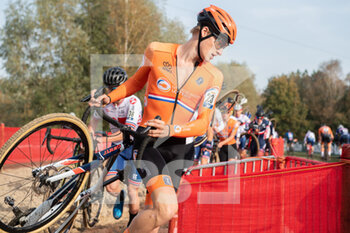 07/11/2020 - Hugo Kars (NED) during the 2020 UEC Cyclo-Cross European Championships, Men Under 23, on november 7, 2020 in Rosmalen, The Netherlands - Photo Orange Pictures / DPPI - 2020 UEC CYCLO-CROSS EUROPEAN CHAMPIONSHIPS, MEN UNDER 23 - CICLOCROSS - CICLISMO