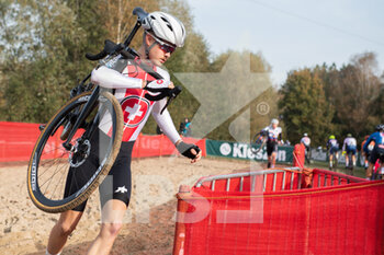 07/11/2020 - Jean-Luc Halter (SUI) during the 2020 UEC Cyclo-Cross European Championships, Men Under 23, on november 7, 2020 in Rosmalen, The Netherlands - Photo Orange Pictures / DPPI - 2020 UEC CYCLO-CROSS EUROPEAN CHAMPIONSHIPS, MEN UNDER 23 - CICLOCROSS - CICLISMO