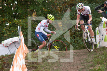 07/11/2020 - Ryan Kamp (NED), Thomas Mein (GBR) during the 2020 UEC Cyclo-Cross European Championships, Men Under 23, on november 7, 2020 in Rosmalen, The Netherlands - Photo Orange Pictures / DPPI - 2020 UEC CYCLO-CROSS EUROPEAN CHAMPIONSHIPS, MEN UNDER 23 - CICLOCROSS - CICLISMO