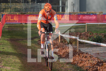 07/11/2020 - Kyle Agterberg (NED) during the 2020 UEC Cyclo-Cross European Championships, Men Under 23, on november 7, 2020 in Rosmalen, The Netherlands - Photo Orange Pictures / DPPI - 2020 UEC CYCLO-CROSS EUROPEAN CHAMPIONSHIPS, MEN UNDER 23 - CICLOCROSS - CICLISMO