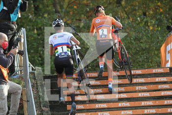 07/11/2020 - Annemarie Worst and Ceylin del Carmen Alvarado (NED) during the 2020 UEC Cyclo-Cross European Championships, Women Elite, on november 7, 2020 in Rosmalen, The Netherlands - Photo Orange Pictures / DPPI - 2020 UEC CYCLO-CROSS EUROPEAN CHAMPIONSHIPS, MEN UNDER 23 - CICLOCROSS - CICLISMO