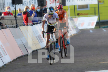07/11/2020 - Ceylin del Carmen Alvarado (NED) Winner, Annemarie Worst (NED) 2nd place during the 2020 UEC Cyclo-Cross European Championships, Women Elite, on november 7, 2020 in Rosmalen, The Netherlands - Photo Orange Pictures / DPPI - 2020 UEC CYCLO-CROSS EUROPEAN CHAMPIONSHIPS, MEN UNDER 23 - CICLOCROSS - CICLISMO