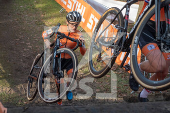 07/11/2020 - Yara Kastelijn (NED) during the 2020 UEC Cyclo-Cross European Championships, Women Elite, on november 7, 2020 in Rosmalen, The Netherlands - Photo Orange Pictures / DPPI - 2020 UEC CYCLO-CROSS EUROPEAN CHAMPIONSHIPS, MEN UNDER 23 - CICLOCROSS - CICLISMO