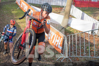 07/11/2020 - Sophie de Boer (NED) during the 2020 UEC Cyclo-Cross European Championships, Women Elite, on november 7, 2020 in Rosmalen, The Netherlands - Photo Orange Pictures / DPPI - 2020 UEC CYCLO-CROSS EUROPEAN CHAMPIONSHIPS, MEN UNDER 23 - CICLOCROSS - CICLISMO