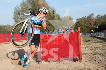 07/11/2020 - Sanne Cant (BEL) during the 2020 UEC Cyclo-Cross European Championships, Women Elite, on november 7, 2020 in Rosmalen, The Netherlands - Photo Orange Pictures / DPPI - 2020 UEC CYCLO-CROSS EUROPEAN CHAMPIONSHIPS, MEN UNDER 23 - CICLOCROSS - CICLISMO