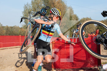 07/11/2020 - Alicia Franck (BEL) during the 2020 UEC Cyclo-Cross European Championships, Women Elite, on november 7, 2020 in Rosmalen, The Netherlands - Photo Orange Pictures / DPPI - 2020 UEC CYCLO-CROSS EUROPEAN CHAMPIONSHIPS, MEN UNDER 23 - CICLOCROSS - CICLISMO