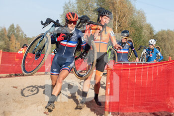 07/11/2020 - Helene Clauzel (FRA) during the 2020 UEC Cyclo-Cross European Championships, Women Elite, on november 7, 2020 in Rosmalen, The Netherlands - Photo Orange Pictures / DPPI - 2020 UEC CYCLO-CROSS EUROPEAN CHAMPIONSHIPS, MEN UNDER 23 - CICLOCROSS - CICLISMO