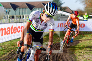 07/11/2020 - Ceylin del Carmen Alvarado (NED) during the 2020 UEC Cyclo-Cross European Championships, Women Elite, on november 7, 2020 in Rosmalen, The Netherlands - Photo Orange Pictures / DPPI - 2020 UEC CYCLO-CROSS EUROPEAN CHAMPIONSHIPS, MEN UNDER 23 - CICLOCROSS - CICLISMO