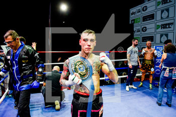 Forte vs Pardal - European Union Feather Weights Title - BOXE - CONTATTO