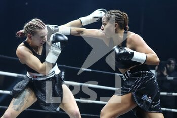 Boxing bout between Estelle Mossely-Yoka vs Emma Gongora - BOXE - CONTATTO