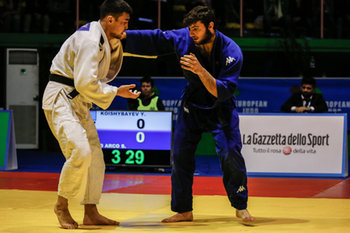 17/02/2019 - D´Arco Salvatore (ITA) vs Koishybayev - EUROPEAN JUDO OPEN MEN - DAY 2 - JUDO - CONTATTO