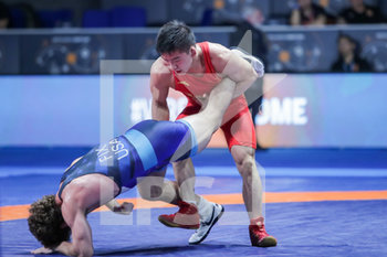 18/01/2020 - Minghu Liu (China) category 57 kg - 1° RANKING SERIES INTERNATIONAL TOURNAMENT - DAY4 - LOTTA - CONTATTO