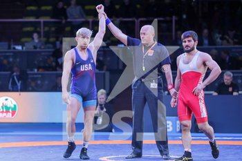 18/01/2020 - Kyle Douglas Dake (USA) category 74 kg - 1° RANKING SERIES INTERNATIONAL TOURNAMENT - DAY4 - LOTTA - CONTATTO