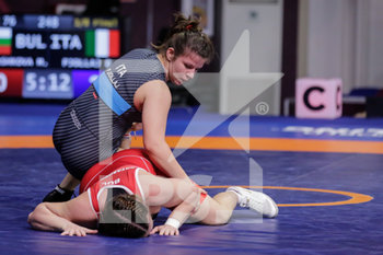12/02/2020 - Eleni Pjollaj (ITA) 76 Kg category - CAMPIONATO EUROPEO SENIOR DI LOTTA GRECO-ROMANA - DAY 3 - LOTTA - CONTATTO
