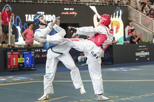 Roma 2018 World Taekwondo Grand Prix Day3 - TAEKWONDO - CONTATTO