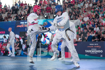08/06/2019 - Dell´Aquila vs Rodriguez - ROMA 2019 WORLD TAEKWONDO GRAND PRIX (DAY 2) - TAEKWONDO - CONTATTO