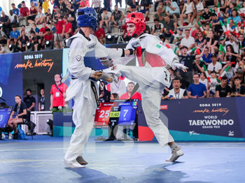 08/06/2019 - Vito Dell´Aquila - ROMA 2019 WORLD TAEKWONDO GRAND PRIX (DAY 2) - TAEKWONDO - CONTATTO