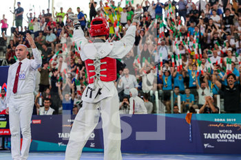 08/06/2019 - esultanza Vito Dell´Aquila - ROMA 2019 WORLD TAEKWONDO GRAND PRIX (DAY 2) - TAEKWONDO - CONTATTO