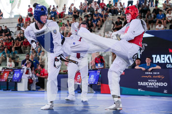 08/06/2019 - Walkden vs Brandl - ROMA 2019 WORLD TAEKWONDO GRAND PRIX (DAY 2) - TAEKWONDO - CONTATTO