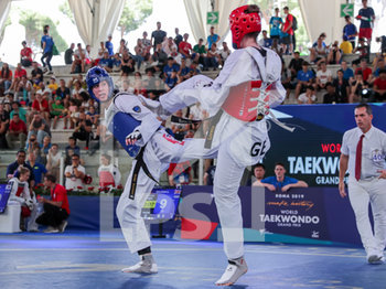 08/06/2019 - Bianca Walkden - ROMA 2019 WORLD TAEKWONDO GRAND PRIX (DAY 2) - TAEKWONDO - CONTATTO