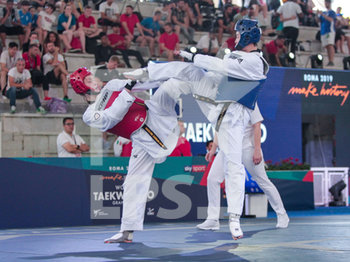 08/06/2019 - Lee vs Gorman-Shore - ROMA 2019 WORLD TAEKWONDO GRAND PRIX (DAY 2) - TAEKWONDO - CONTATTO