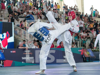 08/06/2019 - Madelynn Gormann-Shore - ROMA 2019 WORLD TAEKWONDO GRAND PRIX (DAY 2) - TAEKWONDO - CONTATTO