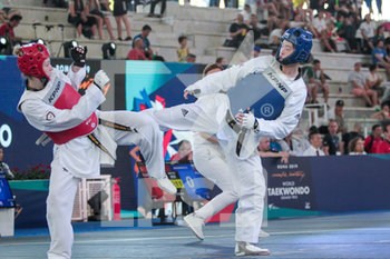 08/06/2019 - Da-Bin Lee - ROMA 2019 WORLD TAEKWONDO GRAND PRIX (DAY 2) - TAEKWONDO - CONTATTO