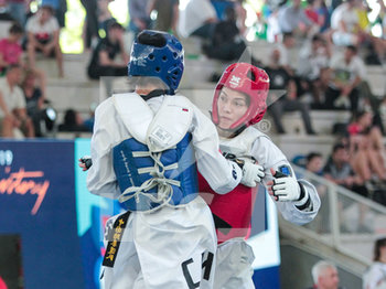 08/06/2019 - Maria Espinoza - ROMA 2019 WORLD TAEKWONDO GRAND PRIX (DAY 2) - TAEKWONDO - CONTATTO