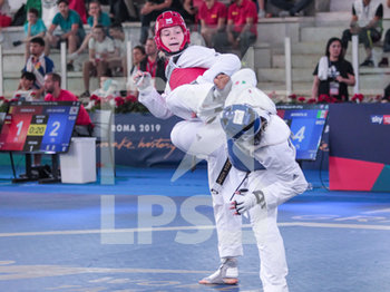 08/06/2019 - Laura Giacomini - ROMA 2019 WORLD TAEKWONDO GRAND PRIX (DAY 2) - TAEKWONDO - CONTATTO