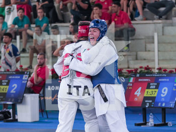 08/06/2019 - Briseida Agosta - ROMA 2019 WORLD TAEKWONDO GRAND PRIX (DAY 2) - TAEKWONDO - CONTATTO