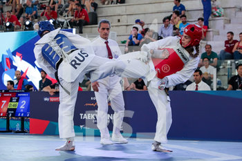 08/06/2019 - Milica Mandic - ROMA 2019 WORLD TAEKWONDO GRAND PRIX (DAY 2) - TAEKWONDO - CONTATTO