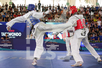08/06/2019 - Jesus Tortosa Cabrera vs Vito Dell´Aquila - ROMA 2019 WORLD TAEKWONDO GRAND PRIX (DAY 2) - TAEKWONDO - CONTATTO