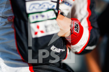16/09/2020 - Buemi S.bastien (swi), Toyota Gazoo Racing, Toyota TS050 Hybrid, portrait during the scrutineering of the 2020 24 Hours of Le Mans, 7th round of the 2019...20 FIA World Endurance Championship on the Circuit des 24 Heures du Mans, from September 16 to 20, 2020 in Le Mans, France - Photo Fr.d.ric Le Floc...h / DPPI - 24 HOURS OF LE MANS 2020 - ENDURANCE - MOTORI