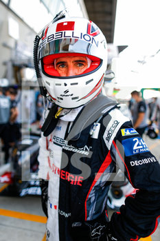 16/09/2020 - Dumas Romain (fra), Rebellion Racing, Rebellion R13-Gibson, portrait during the scrutineering of the 2020 24 Hours of Le Mans, 7th round of the 2019–20 FIA World Endurance Championship on the Circuit des 24 Heures du Mans, from September 16 to 20, 2020 in Le Mans, France - Photo Fr - 24 HOURS OF LE MANS 2020 - ENDURANCE - MOTORI