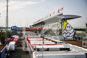16/09/2020 - Paddock view during the scrutineering of the 2020 24 Hours of Le Mans, 7th round of the 2019...20 FIA World Endurance Championship on the Circuit des 24 Heures du Mans, from September 16 to 20, 2020 in Le Mans, France - Photo Xavi Bonilla / DPPI - 24 HOURS OF LE MANS 2020 - ENDURANCE - MOTORI