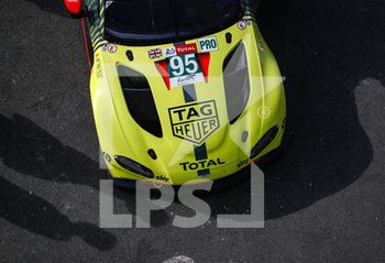 16/09/2020 - Team Aston Martin Racing, Aston Martin Vantage AMR during the scrutineering of the 2020 24 Hours of Le Mans, 7th round of the 2019...20 FIA World Endurance Championship on the Circuit des 24 Heures du Mans, from September 16 to 20, 2020 in Le Mans, France - Photo Xavi Bonilla / DPPI - 24 HOURS OF LE MANS 2020 - ENDURANCE - MOTORI