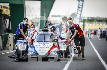 16/09/2020 - 39 Allen James (aus), Capillaire Vincent (fra), Milesi Charles (fra), SO24-HAS by Graff, Oreca 07-Gibson, action during the scrutineering of the 2020 24 Hours of Le Mans, 7th round of the 2019...20 FIA World Endurance Championship on the Circuit des 24 Heures du Mans, from September 16 to 20, 2020 in Le Mans, France - Photo Xavi Bonilla / DPPI - 24 HOURS OF LE MANS 2020 - ENDURANCE - MOTORI
