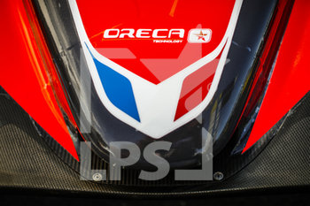 16/09/2020 - IDEC Sport, Oreca 07-Gibson, body, carrosserie, during the scrutineering of the 2020 24 Hours of Le Mans, 7th round of the 2019...20 FIA World Endurance Championship on the Circuit des 24 Heures du Mans, from September 16 to 20, 2020 in Le Mans, France - Photo Xavi Bonilla / DPPI - 24 HOURS OF LE MANS 2020 - ENDURANCE - MOTORI
