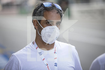 16/09/2020 - Montoya Juan-Pablo (col), DragonSpeed USA, Oreca 07-Gibson, portrait during the scrutineering of the 2020 24 Hours of Le Mans, 7th round of the 2019...20 FIA World Endurance Championship on the Circuit des 24 Heures du Mans, from September 16 to 20, 2020 in Le Mans, France - Photo Xavi Bonilla / DPPI - 24 HOURS OF LE MANS 2020 - ENDURANCE - MOTORI