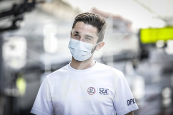 16/09/2020 - Aubry Gabriel (fra), Jackie Chan DC Racing, Oreca 07-Gibson, portrait during the scrutineering of the 2020 24 Hours of Le Mans, 7th round of the 2019...20 FIA World Endurance Championship on the Circuit des 24 Heures du Mans, from September 16 to 20, 2020 in Le Mans, France - Photo Xavi Bonilla / DPPI - 24 HOURS OF LE MANS 2020 - ENDURANCE - MOTORI