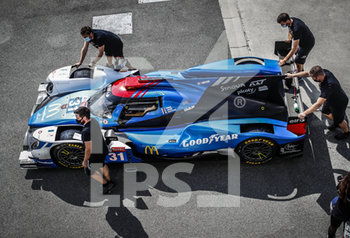 16/09/2020 - Panis Racing, Oreca 07-Gibson, action during the scrutineering of the 2020 24 Hours of Le Mans, 7th round of the 2019...20 FIA World Endurance Championship on the Circuit des 24 Heures du Mans, from September 16 to 20, 2020 in Le Mans, France - Photo Xavi Bonilla / DPPI - 24 HOURS OF LE MANS 2020 - ENDURANCE - MOTORI