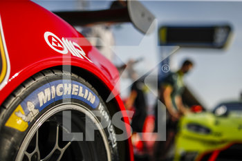 16/09/2020 - Michelin tyre during the scrutineering of the 2020 24 Hours of Le Mans, 7th round of the 2019...20 FIA World Endurance Championship on the Circuit des 24 Heures du Mans, from September 16 to 20, 2020 in Le Mans, France - Photo Fr..d..ric Le Floc...h / DPPI - 24 HOURS OF LE MANS 2020 - ENDURANCE - MOTORI