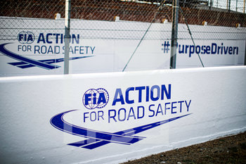 16/09/2020 - Ambiance, FIA Action for Road Safety during the scrutineering of the 2020 24 Hours of Le Mans, 7th round of the 2019-20 FIA World Endurance Championship on the Circuit des 24 Heures du Mans, from September 16 to 20, 2020 in Le Mans, France - Photo Xavi Bonilla / DPPI - 24 HOURS OF LE MANS 2020 - ENDURANCE - MOTORI