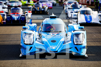 16/09/2020 - 17 Kennard Jonathan (gbr), Merriman Dwight (usa), Tilley Kyle (gbr), IDEC Sport, Oreca 07-Gibson, ambiance during the scrutineering of the 2020 24 Hours of Le Mans, 7th round of the 2019-20 FIA World Endurance Championship on the Circuit des 24 Heures du Mans, from September 16 to 20, 2020 in Le Mans, France - Photo Xavi Bonilla / DPPI - 24 HOURS OF LE MANS 2020 - ENDURANCE - MOTORI