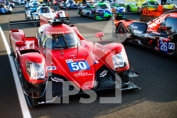 16/09/2020 - 50 Calderon Tatiana (col), Florsch Sophia (ger), Visser Beitske (nld), Richard Mille Racing Team, Oreca 07-Gibson, details during the scrutineering of the 2020 24 Hours of Le Mans, 7th round of the 2019-20 FIA World Endurance Championship on the Circuit des 24 Heures du Mans, from September 16 to 20, 2020 in Le Mans, France - Photo Xavi Bonilla / DPPI - 24 HOURS OF LE MANS 2020 - ENDURANCE - MOTORI