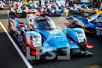 16/09/2020 - 42 Borga Antonin (swi), Coigny Alexandre (swi), Lapierre Nicolas (fra), Cool Racing, Oreca 07-Gibson, ambiance during the scrutineering of the 2020 24 Hours of Le Mans, 7th round of the 2019-20 FIA World Endurance Championship on the Circuit des 24 Heures du Mans, from September 16 to 20, 2020 in Le Mans, France - Photo Xavi Bonilla / DPPI - 24 HOURS OF LE MANS 2020 - ENDURANCE - MOTORI
