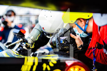 11/10/2020 - 60 Schiavoni Claudio (ita), Mastronardi Rino (ita), Nielsen Nicklas (dnk), Iron Lynx, Ferrari 488 GTE Evo, action during the 2020 4 Hours of Monza, 4th round of the 2020 European Le Mans Series, from October 9 to 11, 2020 on the Autodromo Nazionale di Monza, Italy - Photo Germain Hazard / DPPI - 4 HOURS OF MONZA, 4TH ROUND OF THE 2020 EUROPEAN LE MANS SERIES - SUNDAY - ENDURANCE - MOTORI